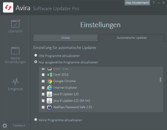 Avira_Software Updater Pro__Automatisches Update