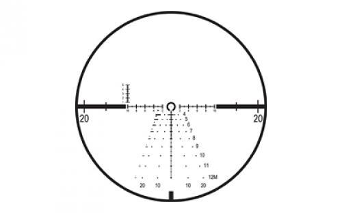 Leupold D-EVO Rifle Scope, 6X 20, CMR-W, Matte Finish