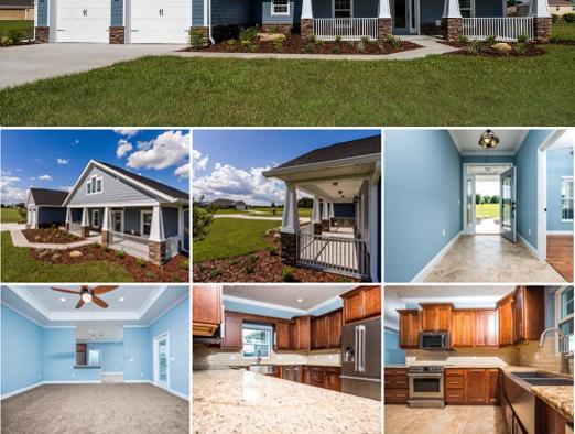 New Model Home: The Sumter Estate