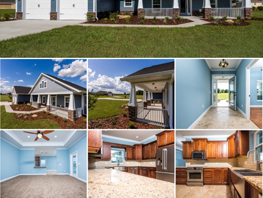 New Model Home: The Sumter Estate