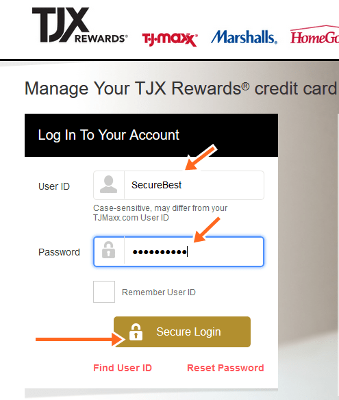 Please note that when you close a credit card account, the total amount of credit that you have available falls, and that puts a dent in your credit score. Tj Maxx Credit Card Bill Payment Online Login Phone Number Securedbest