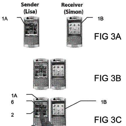 Sony Ericsson patents drag and drop phone to phone