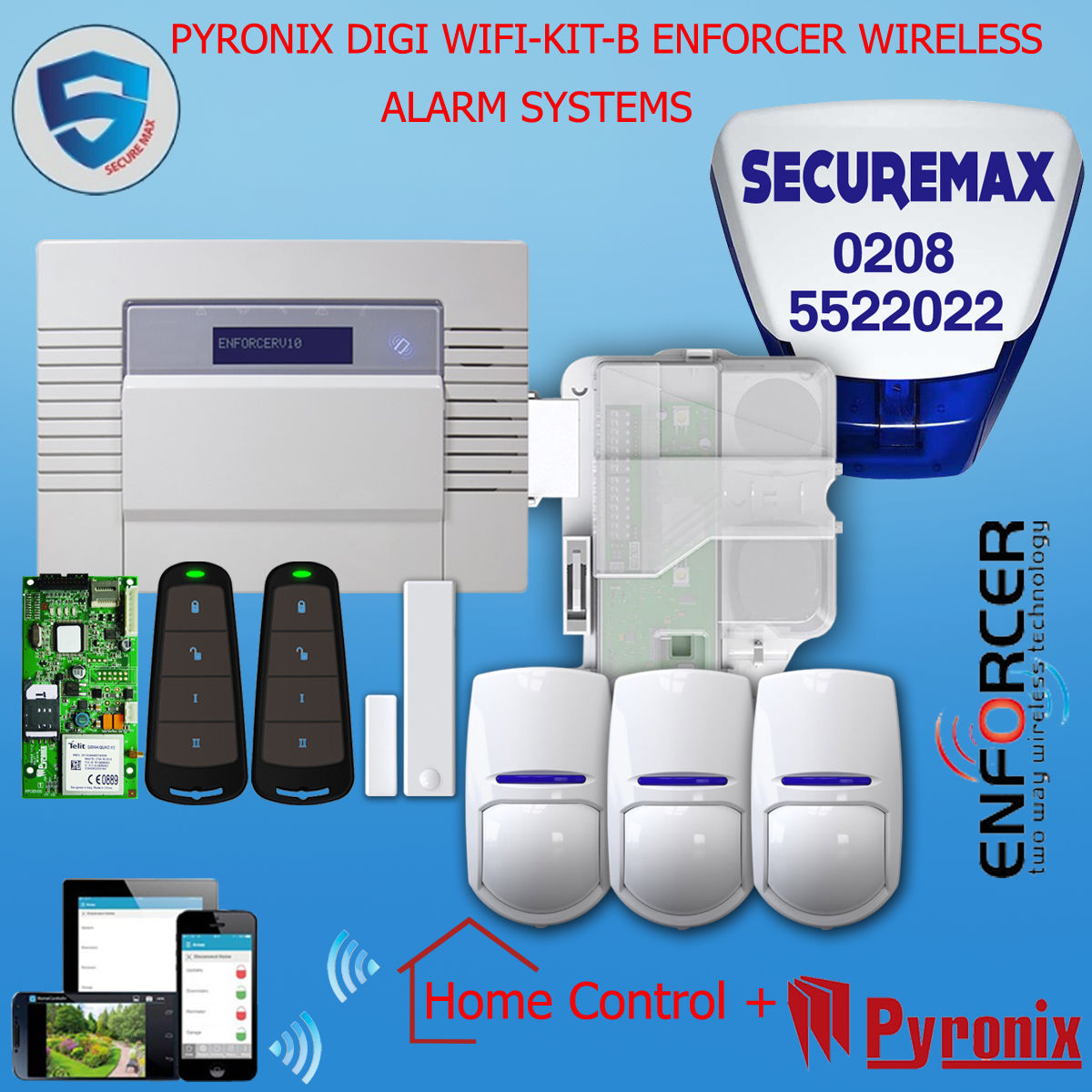 Wireless Alarm System Home