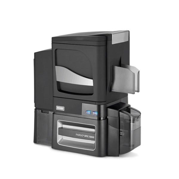 DTC1500 ID Card Printer & Encoder side