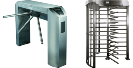 different types of turnstiles