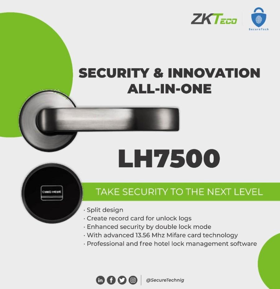 lh7500 smart hotel door lock