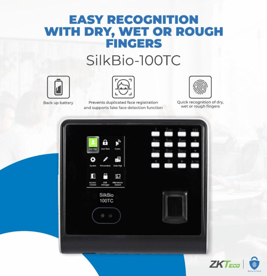 zkteco silk bio 100tc price online