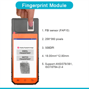 FP09 Biometric Android POS