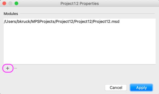 Project Properties