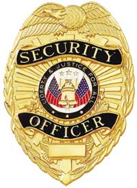 Special Security Officer Badge Security Guards Companies