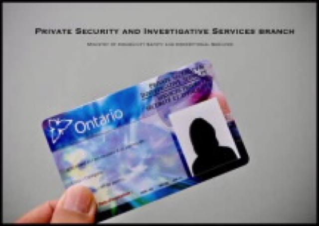 Private Security Ontario