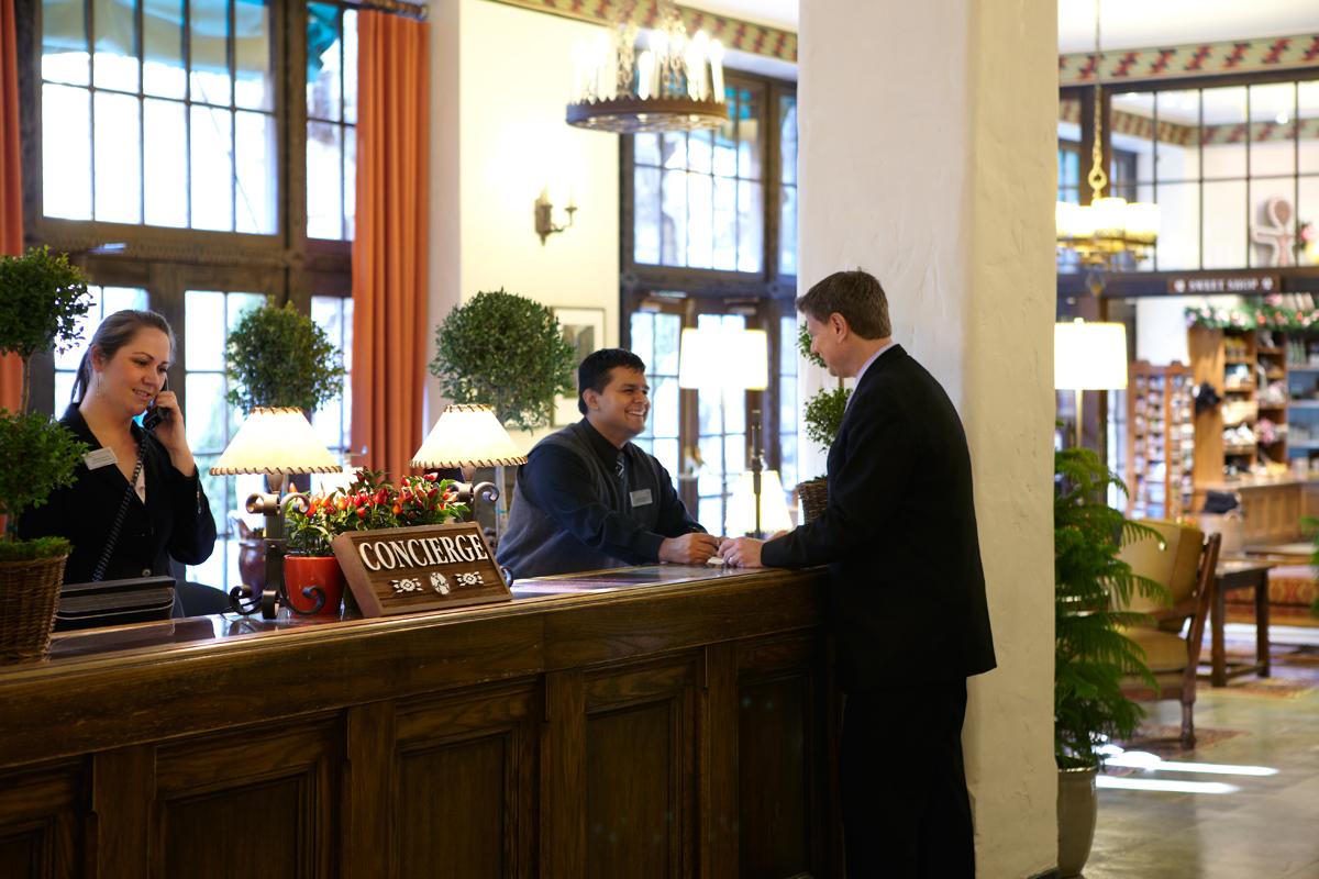 Correct Pronunciation of Concierge  Security Guards Companies
