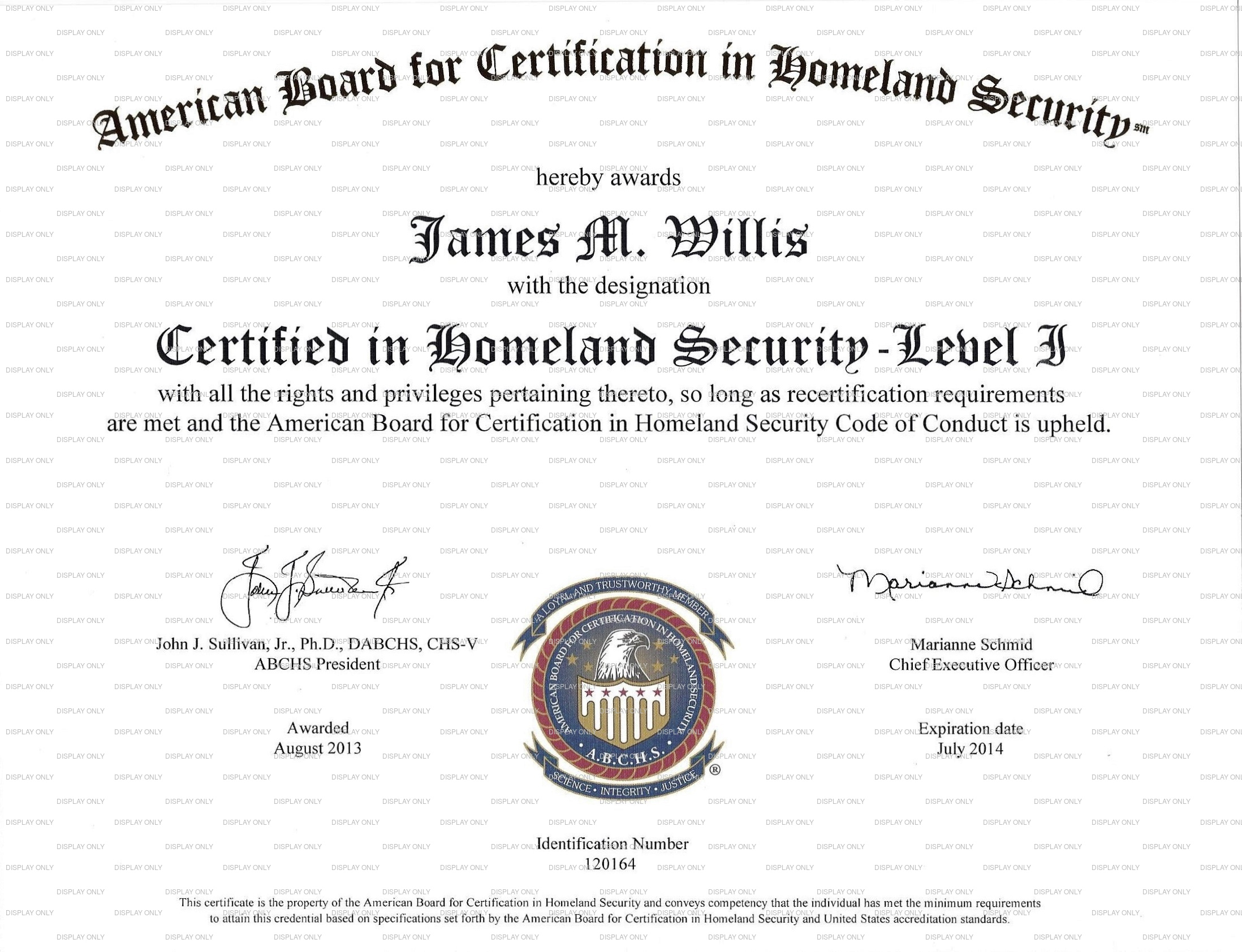Security Certified Guard