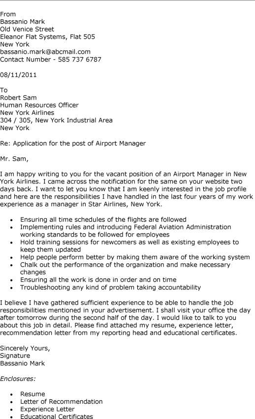 Resume Cover Letter For Branch Manager | Professional Resume ...