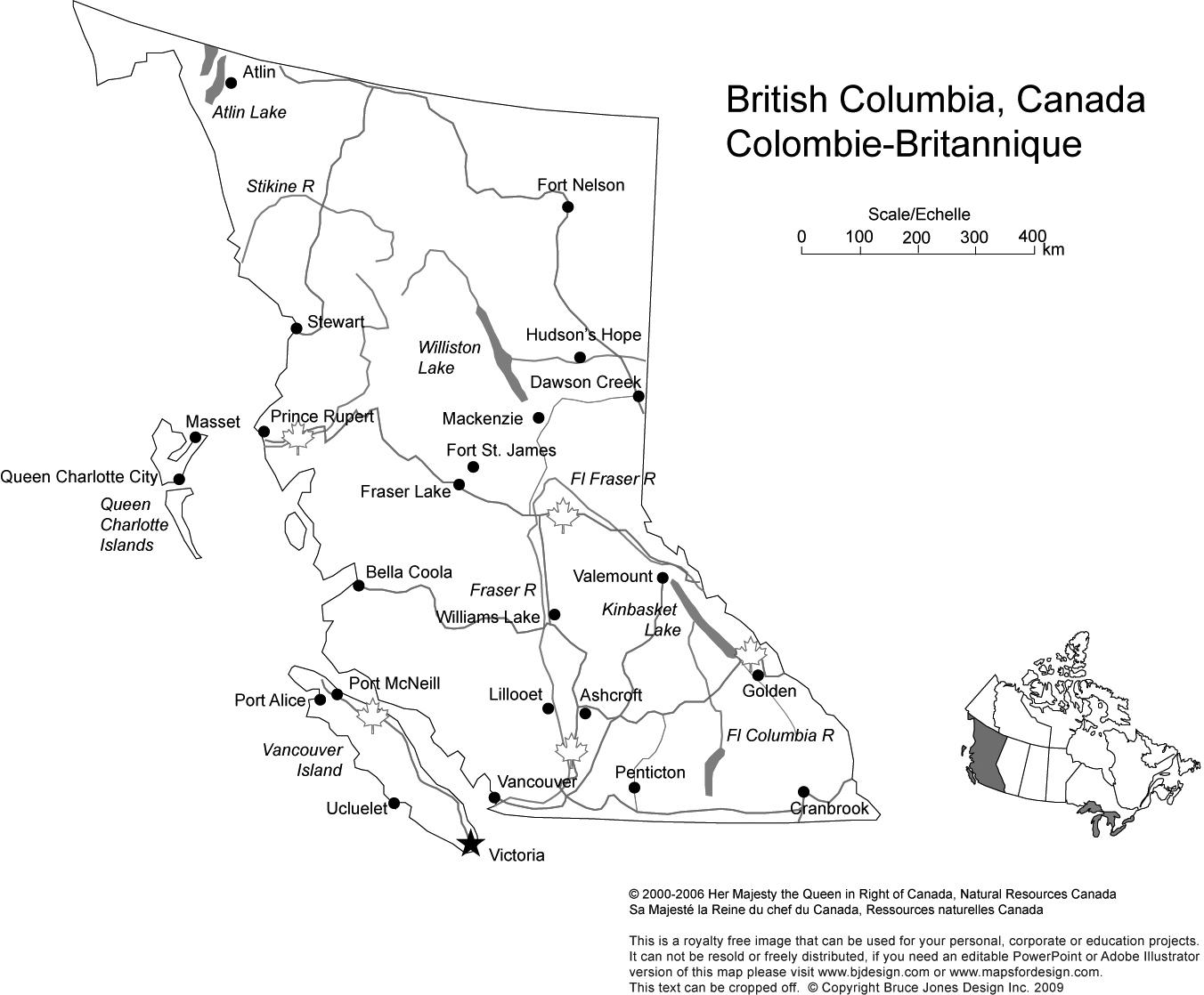 Largest Cities In British Columbia