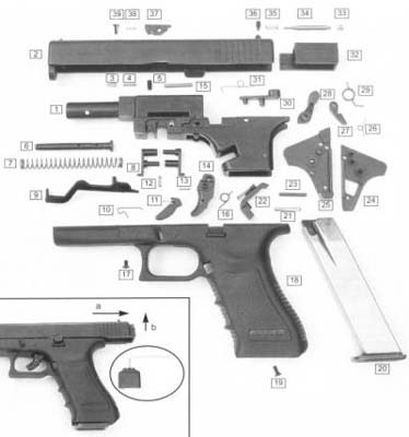 glock 26 parts diagram 93 ford ranger ignition wiring security arms | firearm photo archive