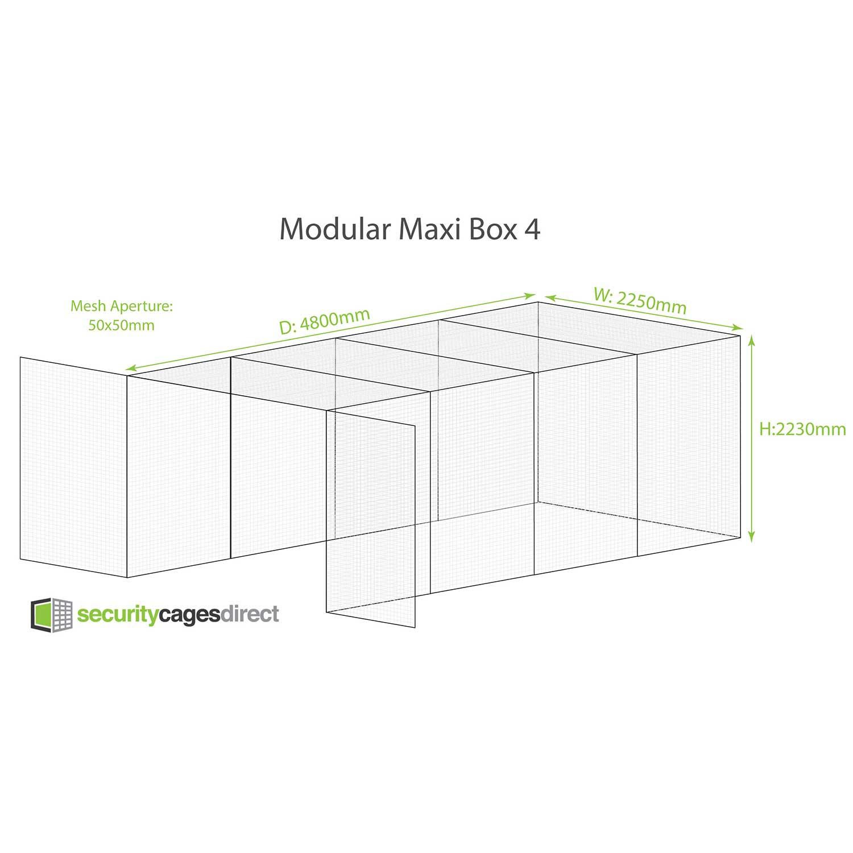 Maxi Box Security Cage