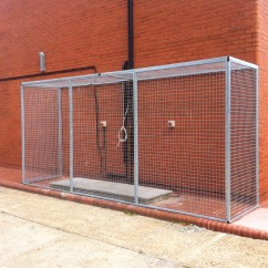 Air Conditioner Cage Rv Solar Custom Cages Quality From The Experts