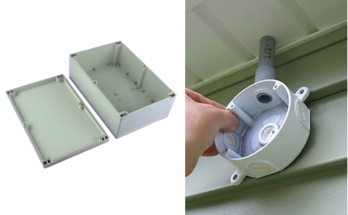 Wiring Through Junction Box Wall Mount Electrical Enclosures Scetj