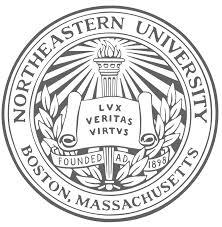 Northeastern University round logo