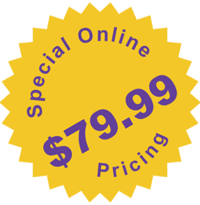Special Pricing Seal $79.99