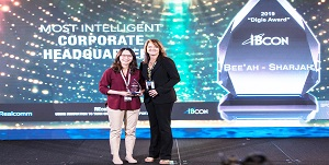 Johnson Controls Wins Most Intelligent Building IBcon Digie Award
