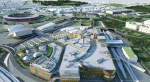 Westfield-Stratford-City-model-with-Olympic-stadium