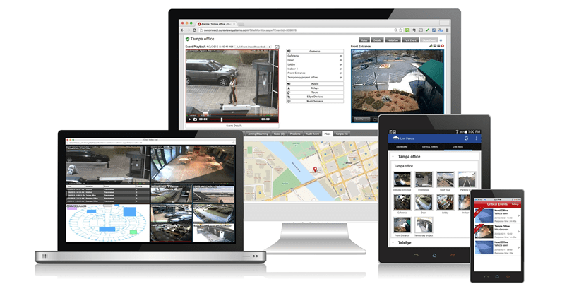 Wavestore integrated with Immix® Command Center