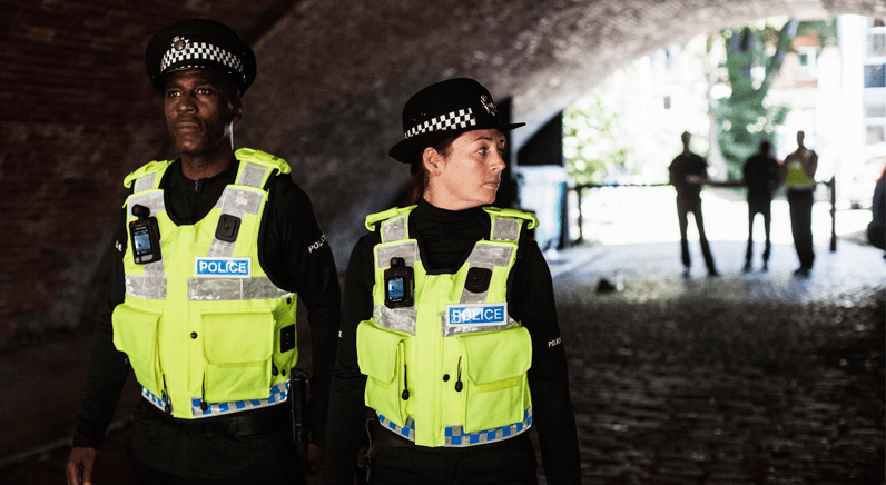 Getting personal: on the beat with body worn cameras