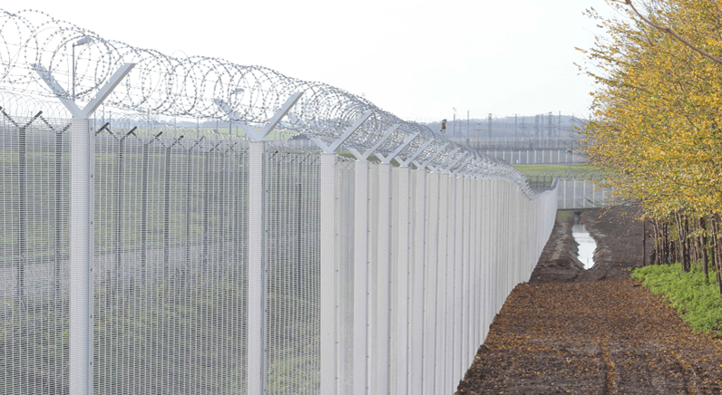 Jacksons Fencing help Eurotunnel provide a safe and secure perimeter