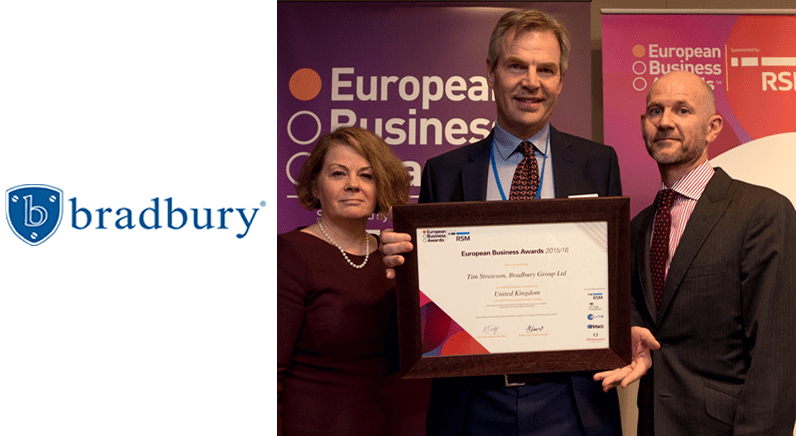 Bradbury Group call for support in European Business Awards