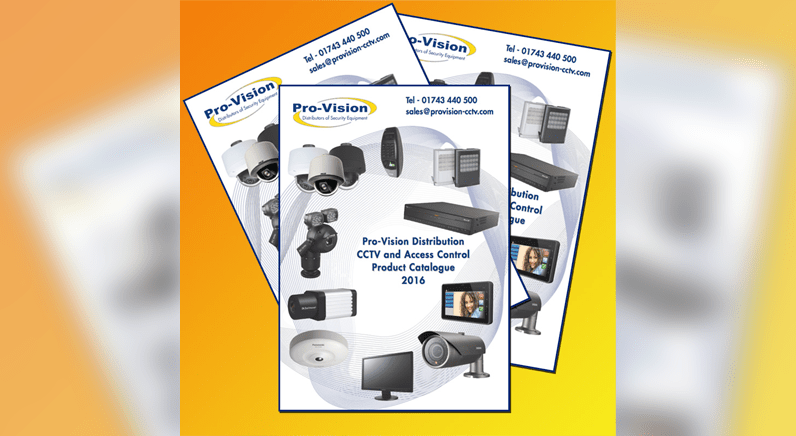Pro-Vision release new CCTV and Access Control product catalogue