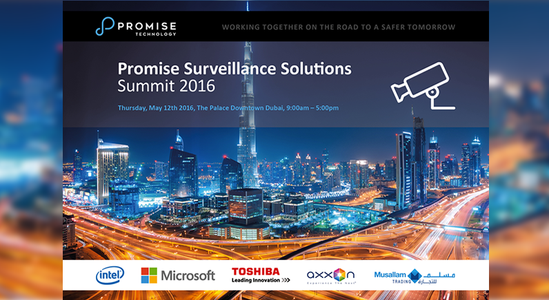 Promise to host first-ever Surveillance Solutions Summit in Dubai