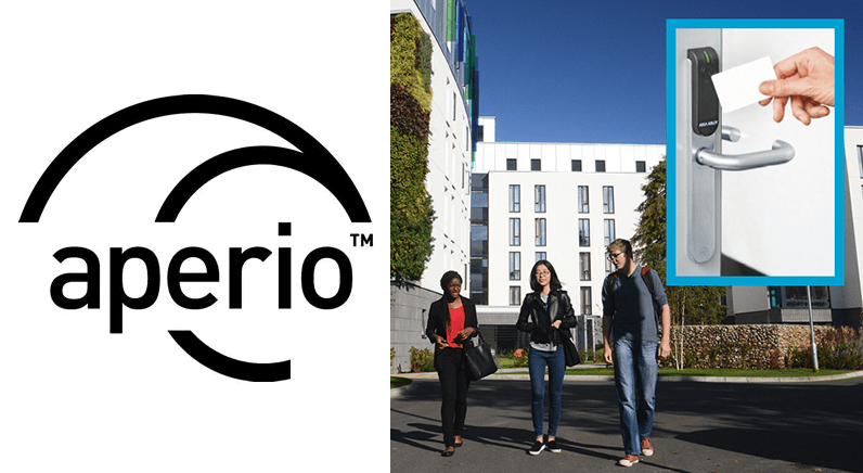 Aperio® wireless access control chosen for student safety