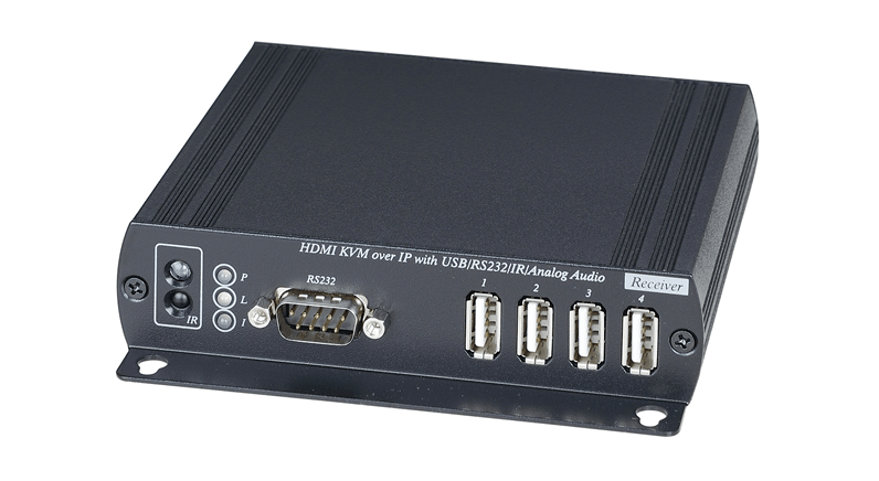 Eneo's KVM extenders allow multi-user access to NVRs and DVRs