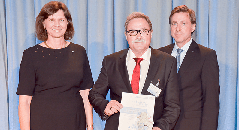 "Dallmeier awarded ""Bavaria's Best 50"" accolade for its success"