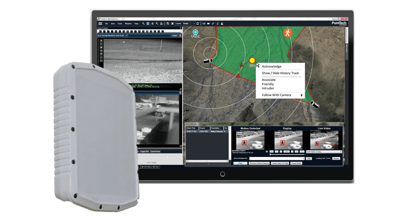 PureTech Systems integrates PureActiv® with SpotterRF® Radar