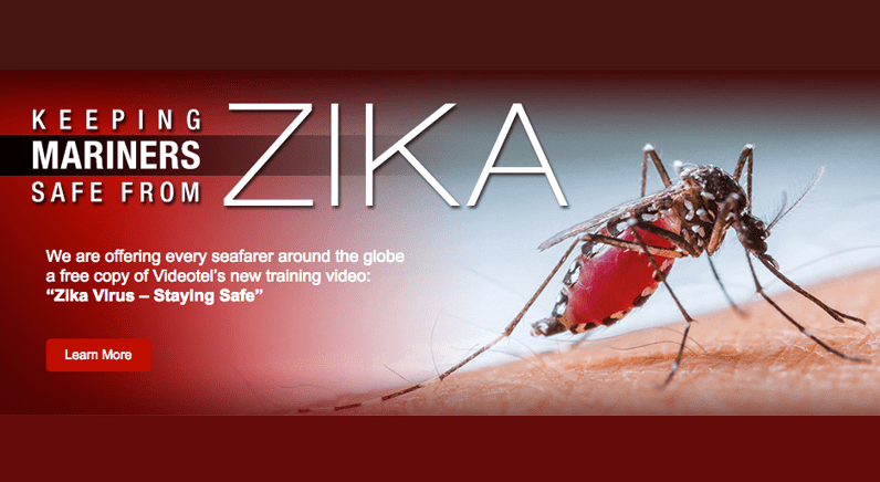 KVH Industries offer Videotel Zika virus safety video free to all mariners