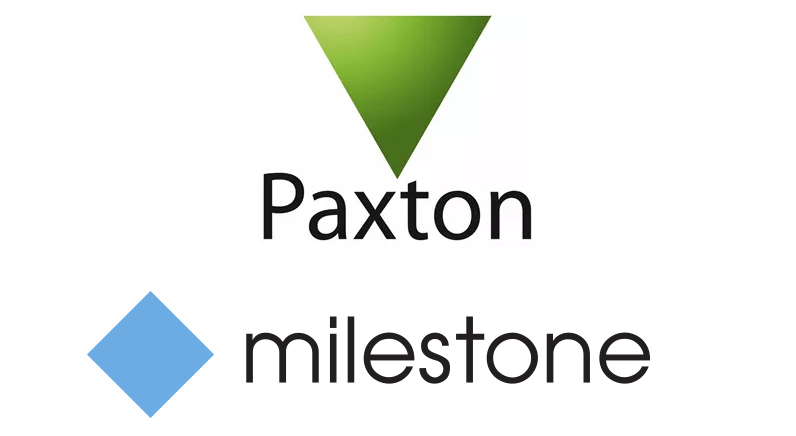 Paxton Net2 Access Control integrates with Milestone XProtect VMS
