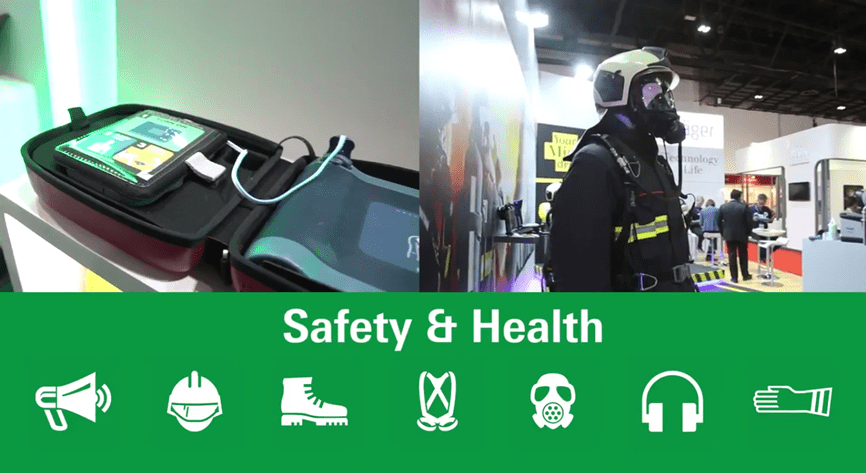Safety and Health services showcased at Intersec 2017