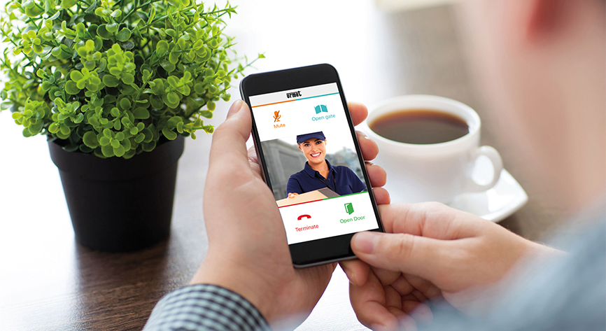 Always at home with Urmet's new application CallMe