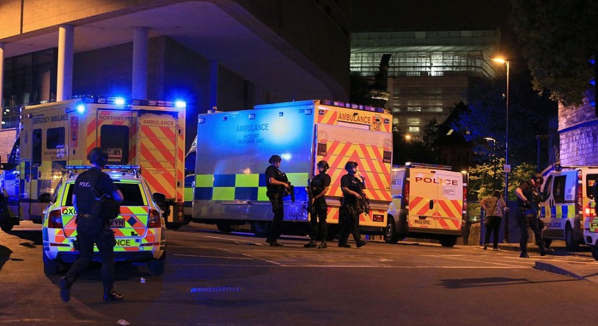 Suicide bomber kills 22 and injures 59 in terror attack at Manchester Arena