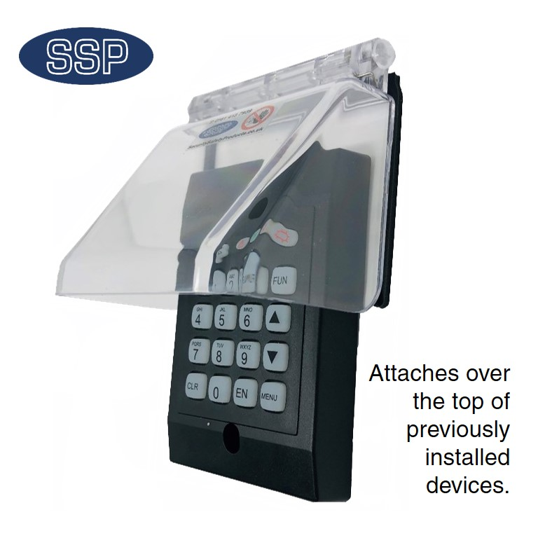 Biometric FingerPrint Reader Cover Small B6514  Protective Covers  Cages  Security Safety