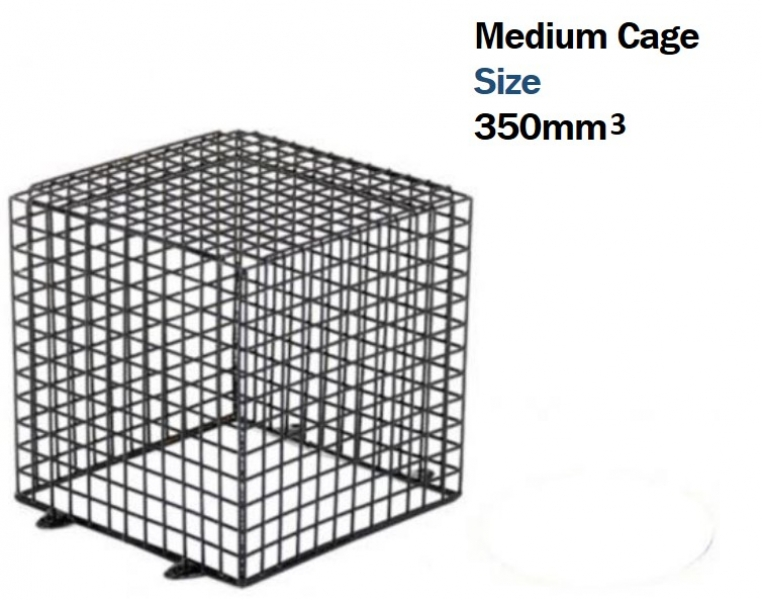 SSP Heavy Duty Security Cage for CCTV Cameras and Lamps (35cm)