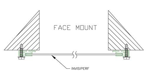 Versa Shield™ Window Barriers Mounting Options