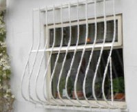 Fixed window bars and grilles, diy fixed window security ...