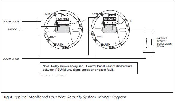 Smoke Detector Wiring Diagram Installation Auto Electrical