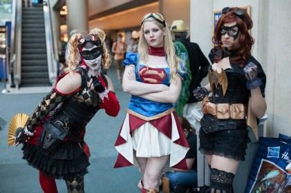 Steampunk-Superheroes