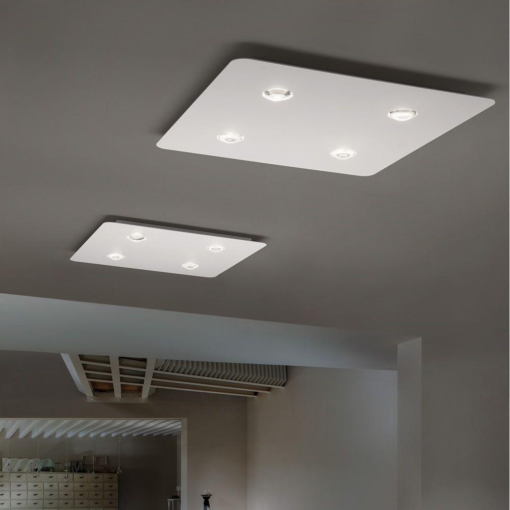 Frozen  Lampada a soffitto di design in metallo LED disponibile in diverse dimensioni e