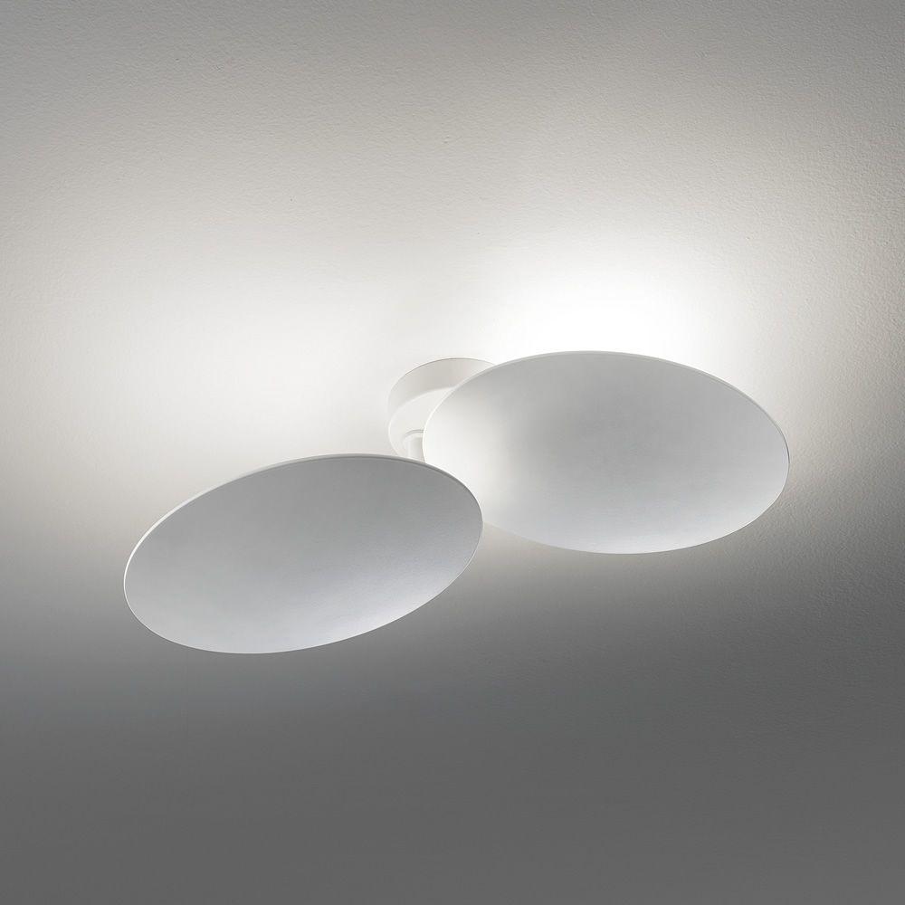 Puzzle Round  Lampada a soffitto o parete di design orientabile in metallo con luce LED